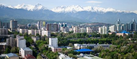 Almaty City Panorama, Kazakhstan