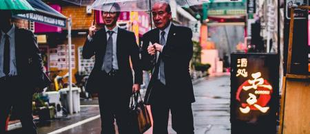 Businessmen in Japan