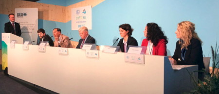 Borderless climate risks side event at COP23