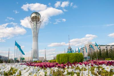 Bayterek is a monument and observation tower in Astana, Kazakhstan.