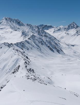 Mountains around Davos, Switzerland